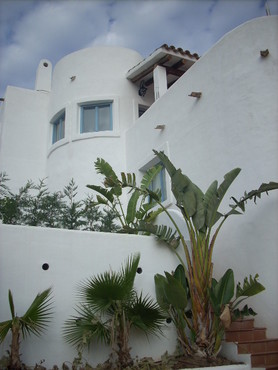 Spanish property for sale in: Sitges the surrounding hills. Lovely Ibiza style house in Can Suria