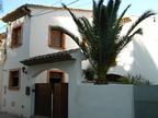 Spanish property for rent in: Sitges the surrounding hills. lovely old townhouse