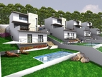 Spanish property for sale in: Sitges the surrounding hills. Modern new constructed villas