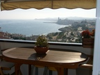 Spanish property for sale in: Sitges in and around the center. Big apartment with amazing views over Sitges and sea