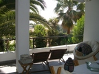 Spanish property for sale in: Sitges in and around the center. House to relax with great palmtrees