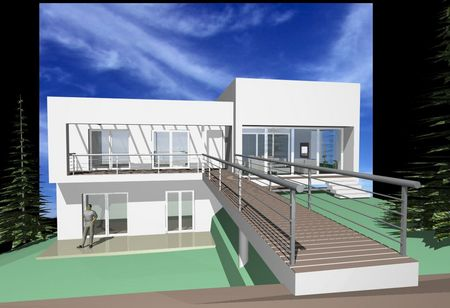 Spanish property for sale in: Sitges the surrounding hills. New ultramodern property!