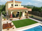 Spanish property for rent in: Sitges the surrounding hills. Semi new rental property in Las Colinas