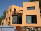 Spanish property for rent in: Sitges the surrounding hills. Spectacular modern mexican style villa