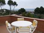 Spanish property for rent in: Castelldefels in and around the center. Semi furnished house with great views to rent