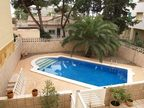 Spanish property for rent in: Castelldefels in and around the center. Furnished  semi detached house to rent
