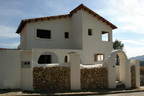 Spanish property for sale in: Sitges the surrounding hills. SOLD!!!    New development with sea views!